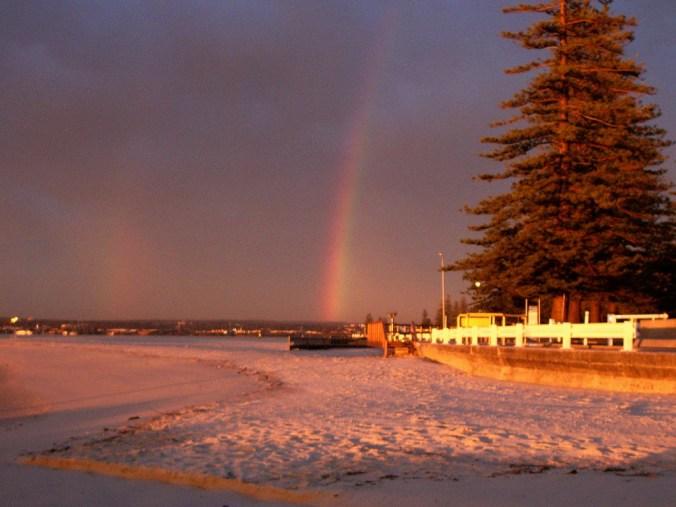 morning rainbow 7 sept