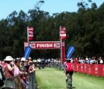 the finish og the 2011 gong bike ride