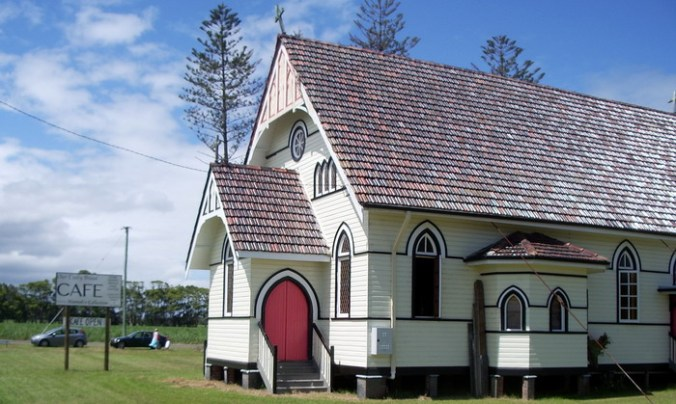 Church now Cafe