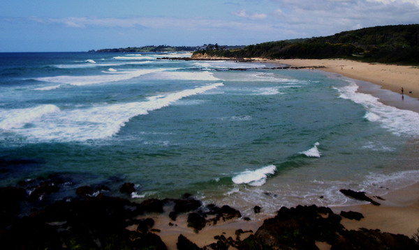 southward toward Narooma, and Montague Island