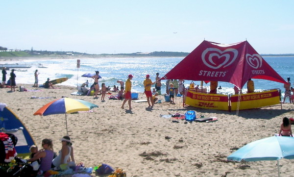 life savers preparing for the day ahead at South Cronulla