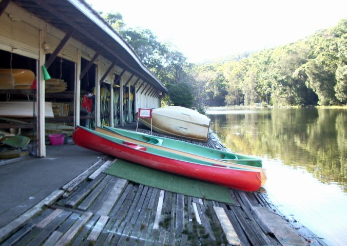 Audley Boatshed, established 1893