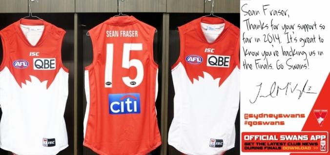 my Grand final Jumper