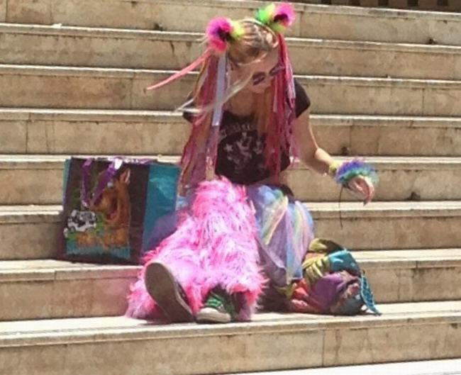 Colourful Vintage Princess